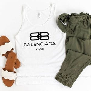 Balenciaga Paris Tank Top Unisex t shirt inspired Sweatshirt