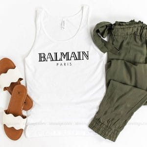 Balmain Dress Tank Top Unisex T Shirt Inspired Sweatshirt