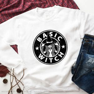 Basic Witch Sweatshirt Inspired Crewneck Sweater