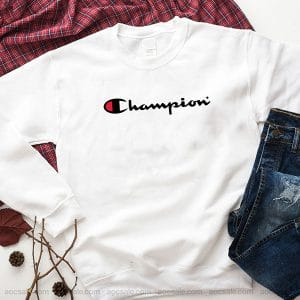 Champion Logo Sweatshirt Inspired Crewneck Sweater