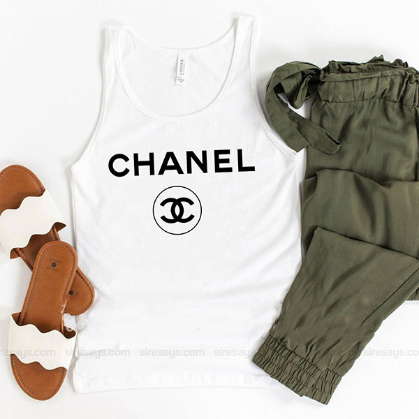 Chanel For Men Tank Top Unisex T Shirt Inspired Sweatshirt