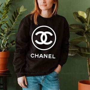 Chanel Logo Sweatshirt Inspired Crewneck Sweater