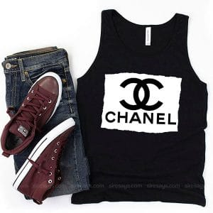 Chanel Men Tank Top Unisex T Shirt Inspired Sweatshirt