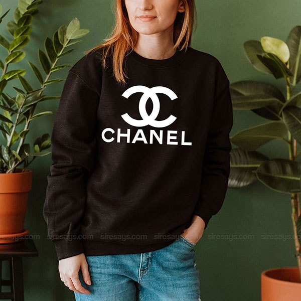 Chanel Sweatshirt Inspired Crewneck Sweater