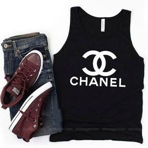 Chanel sweater Tank Top Unisex T Shirt Inspired Sweatshirt