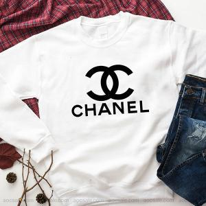 Coco Chanel sweater Sweatshirt Inspired Crewneck Sweater