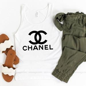 Coco Chanel sweater Tank Top Unisex T Shirt Inspired Sweatshirt