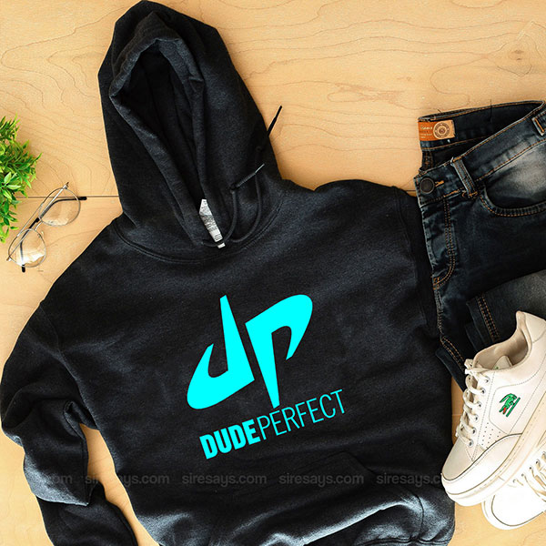Dude Perfect Logo Hoodie Custom T Shirts Gift For Him Or Her