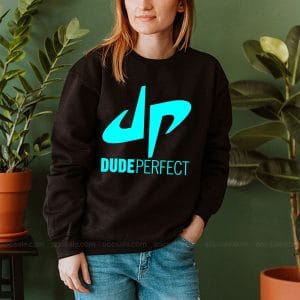 Dude Perfect Logo Sweatshirt Inspired Crewneck Sweater