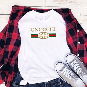 Gnoochi Gold Gucci T Shirt Unisex Hoodie Gift For Men Women