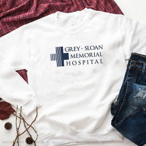 Grey Sloan Memorial Hospital Sweatshirt Inspired Crewneck Sweater