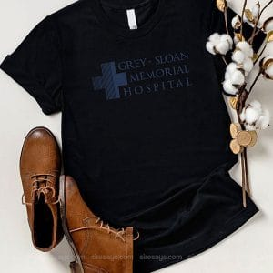Grey Sloan Memorial T Shirt Unisex Hoodie Gift For Men Women