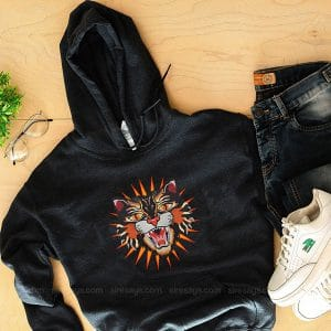 Gucci Logo Tiger Hoodie Custom T Shirts Gift For Him Or Her