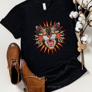 Gucci Logo Tiger T Shirt Unisex Hoodie Gift For Men Women