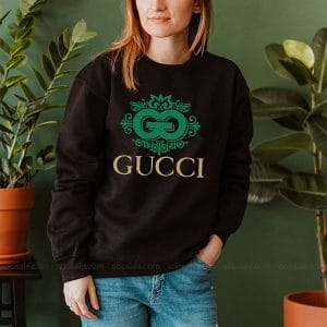 Gucci Snake Logo Sweatshirt Inspired Crewneck Sweater