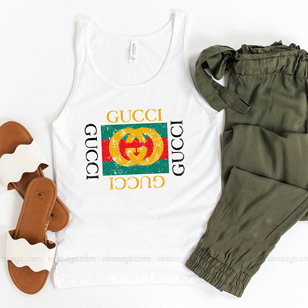 Gucci Symbol Tank Top Unisex T Shirt Inspired Sweatshirt