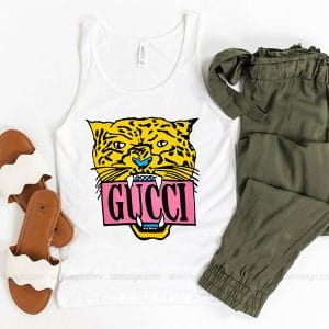Gucci Tiger Sweater Tank Top Unisex T Shirt Inspired Sweatshirt