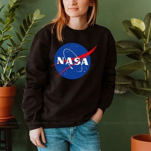 Nasa Sweatshirt Inspired Crewneck Sweater