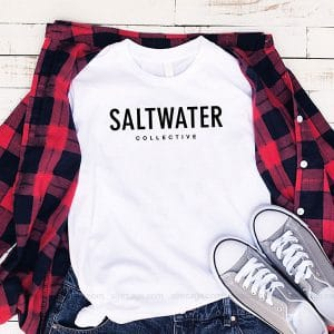 Saltwater Brewery T Shirt Unisex Hoodie Gift For Men Women