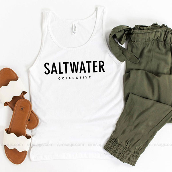Saltwater Brewery Tank Top Unisex T Shirt Inspired Sweatshirt