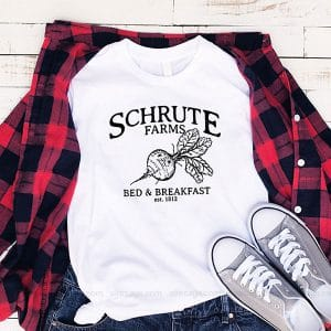 The Battle Of Schrute Farms T Shirt Unisex Hoodie Gift For Men Women