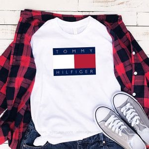 Tommy Hilfiger Logo T Shirt Unisex Hoodie Gift For Men Women