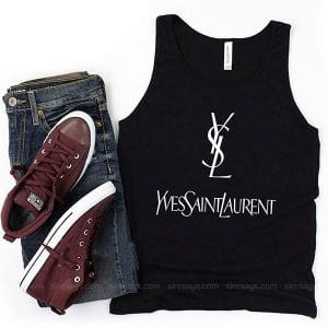 Yves Saint Laurent Mon Paris Tank Top Unisex T Shirt Inspired Sweatshirt